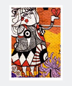 Plakat Graffiti Lizbona