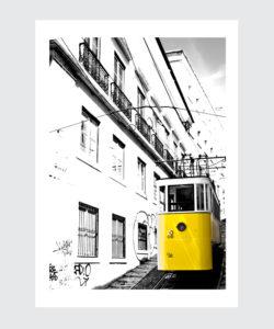 Plakat Lizbona Elevador da Gloria