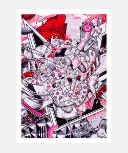 plakat_pink_graffiti_lizbona