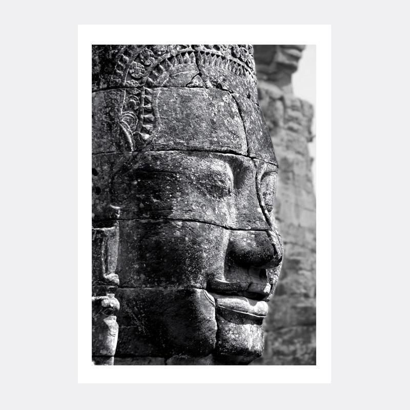 Plakat Budda Wisznu z Angkor – Kambodża