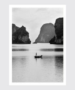 Plakat Wietnam Zatoka Ha Long, plakaty na ścian