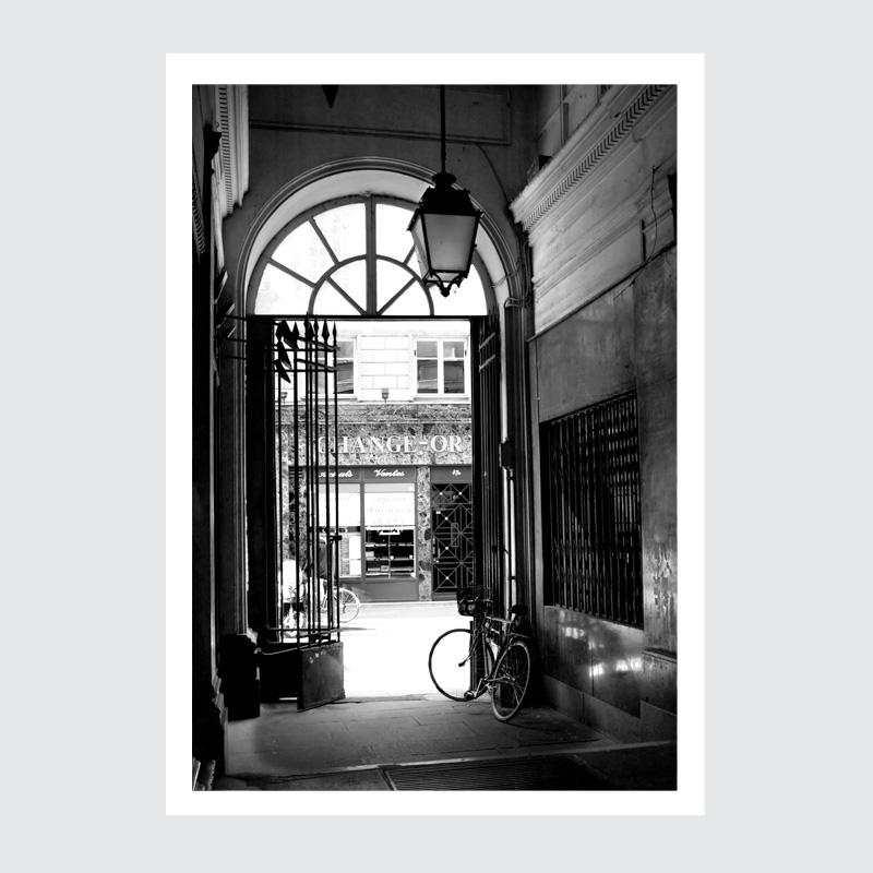Plakat Paryż Le Marais