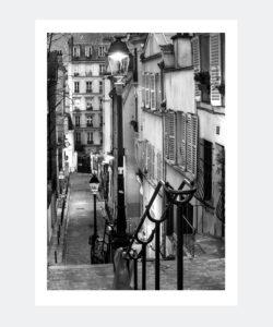 Plakat Paris Montmartre