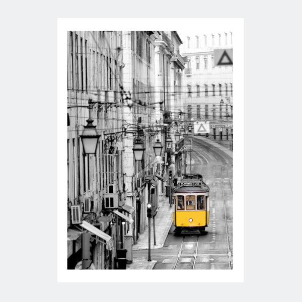 Plakat Lizbona Tramwaj