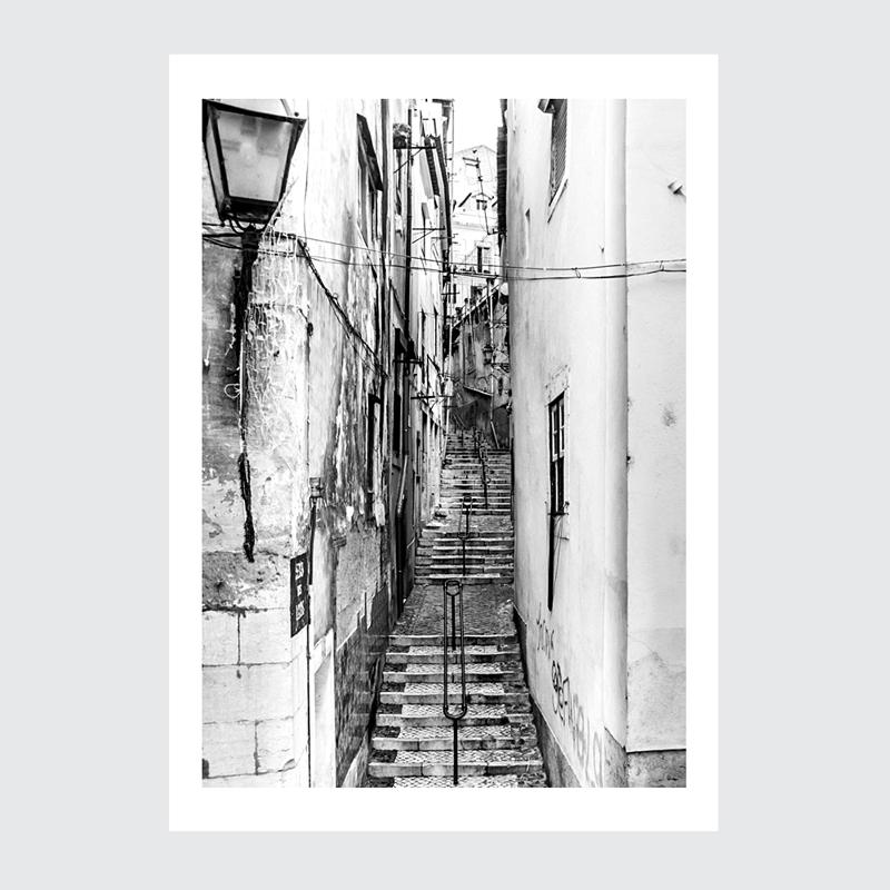 Plakat Lizbona Alfama 1