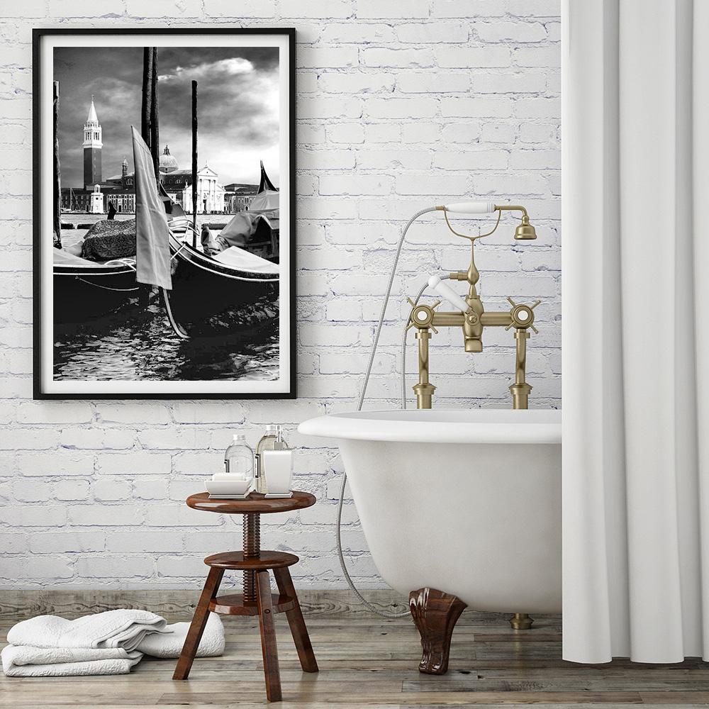 plakat Wenecja gondole 1