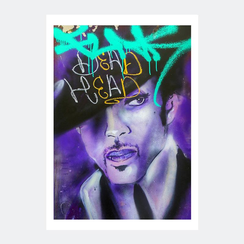 Plakat Graffiti Prince