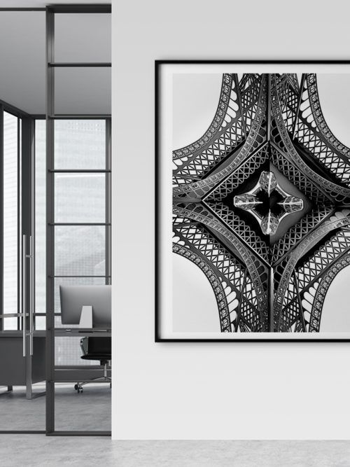 Plakat Paryż Wieża Eiffla