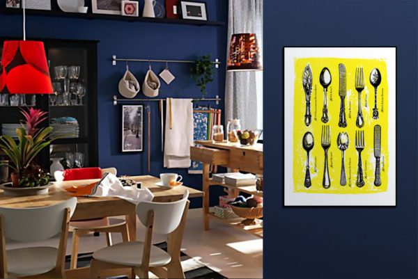 Plakaty do kuchni w stylu vintage, modern i pop art.