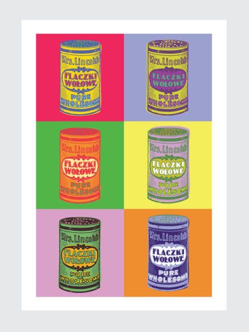 Plakat do kuchni Pop Art Plakat Pop art do kuchni