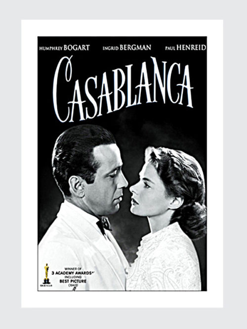"Plakat filmowy ""CASABLANCA"""
