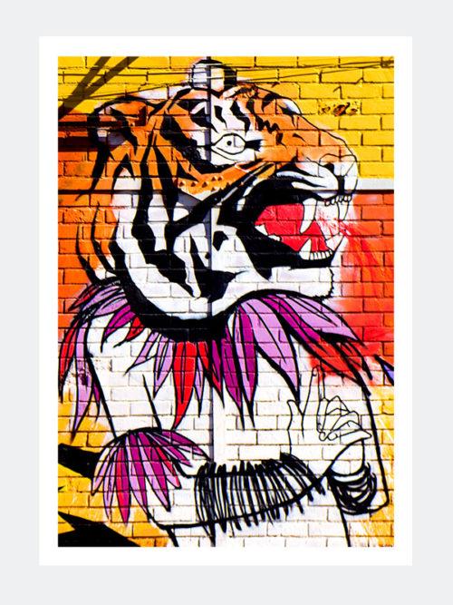 Plakat Graffiti Lizbona 7