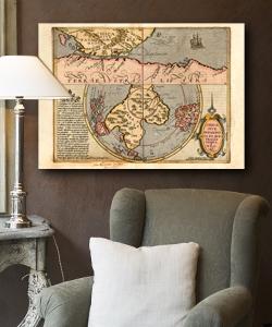 Mapy, plany, szkice podróżników