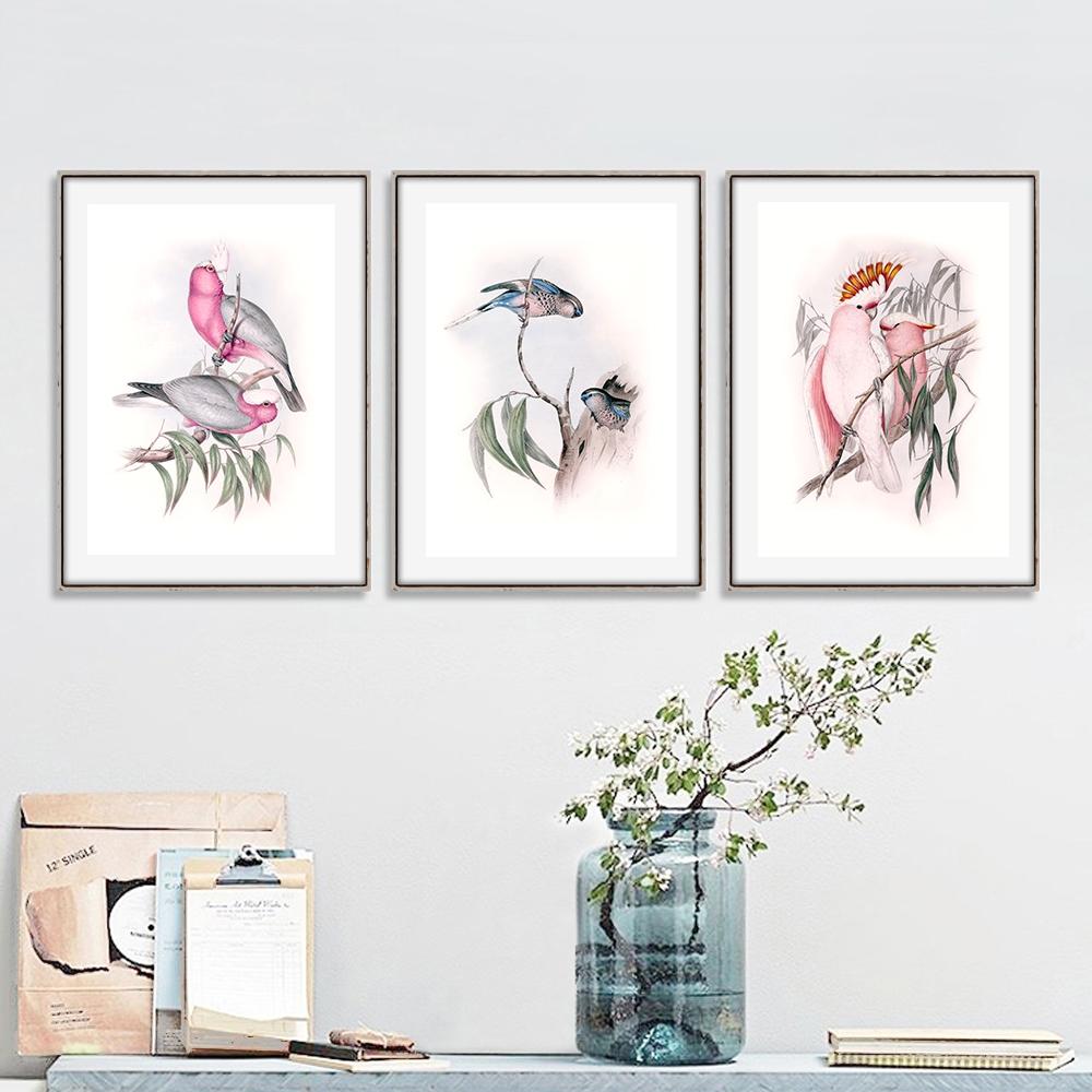 Dekoracje do salonu z ptakami