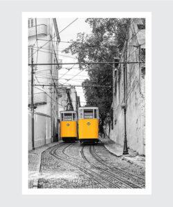 Plakat Lizbona Elevadores