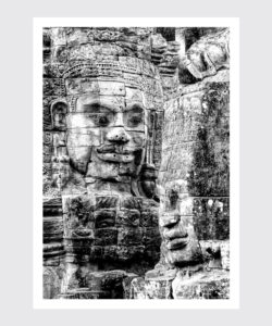 Plakat Budda z Angkor 2