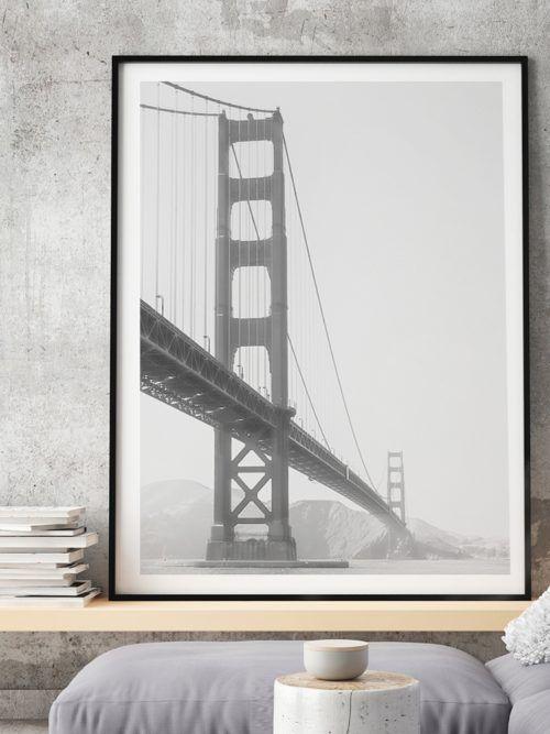 Plakat Most Golden Gate