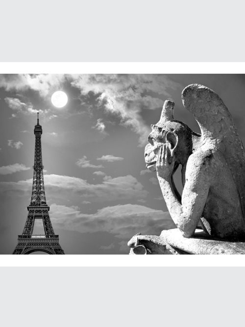 Plakat Chimera z Notre Dame