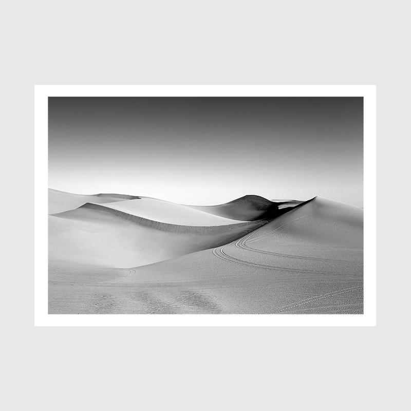 plakat wydmy w dolinie śmierci