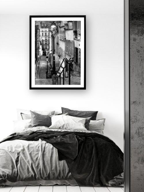 Plakat w ramce Uliczka Montmartre