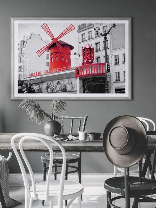 Plakat Moulin Rouge