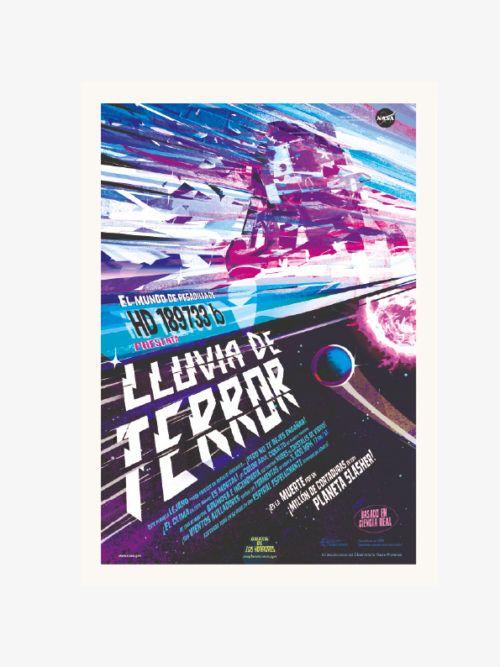 kosmos plakat NASA TERROR
