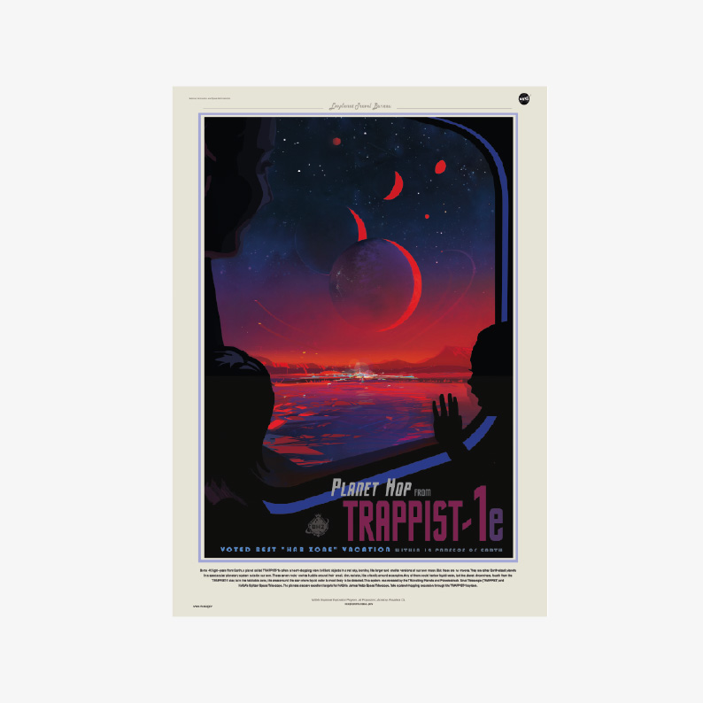 plakat kosmos plakaty do pobrania NASA kosmiczni turyści