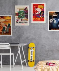 Plakaty kosmos plakaty do pobrania NASA 2021