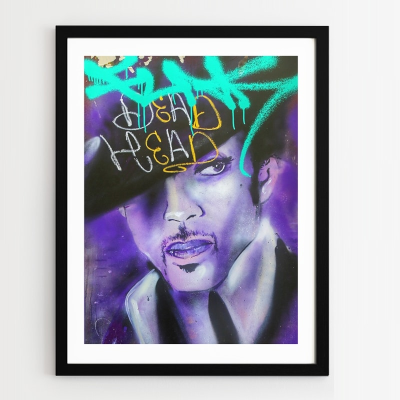 Plakat w ramie Prince Plakat grafitti