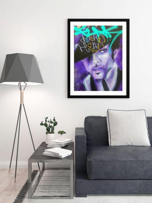 sklep z plakatami Plakat w ramie Prince Plakat grafitti